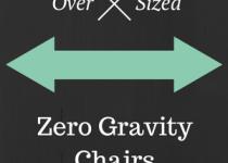 oversized zero gravtiy chairs