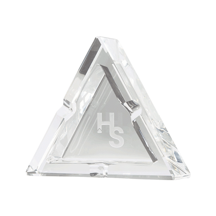 HIGHER STANDARDS PREMIUM CRYSTAL ASHTRAY