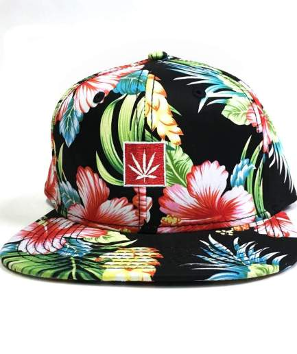 6_panel_maui_wowie_floral_weed_leaf_hat