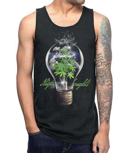 MENS HIGHER THOUGHTS TANK