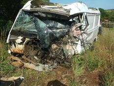 Motorista que morreu em acidente nas Missões viajava a trabalho após show de banda em Ijuí Vilmar Pereira/Polícia Rodoviária Federal,Divulgação
