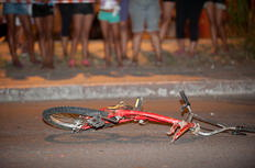 Criança morre atropelada por ônibus na Capital Carlos Macedo/Especial