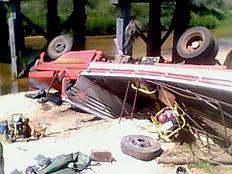 Trabalhador morre em acidente com caminhão em Cacequi Robson Ferraz da Silva, Divulgação Bombeiros São Pedro do Sul/