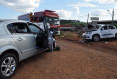 Acidente envolvendo veículo do RS deixa três mortos no Oeste de Santa Catarina Divulgação/Cobom SC