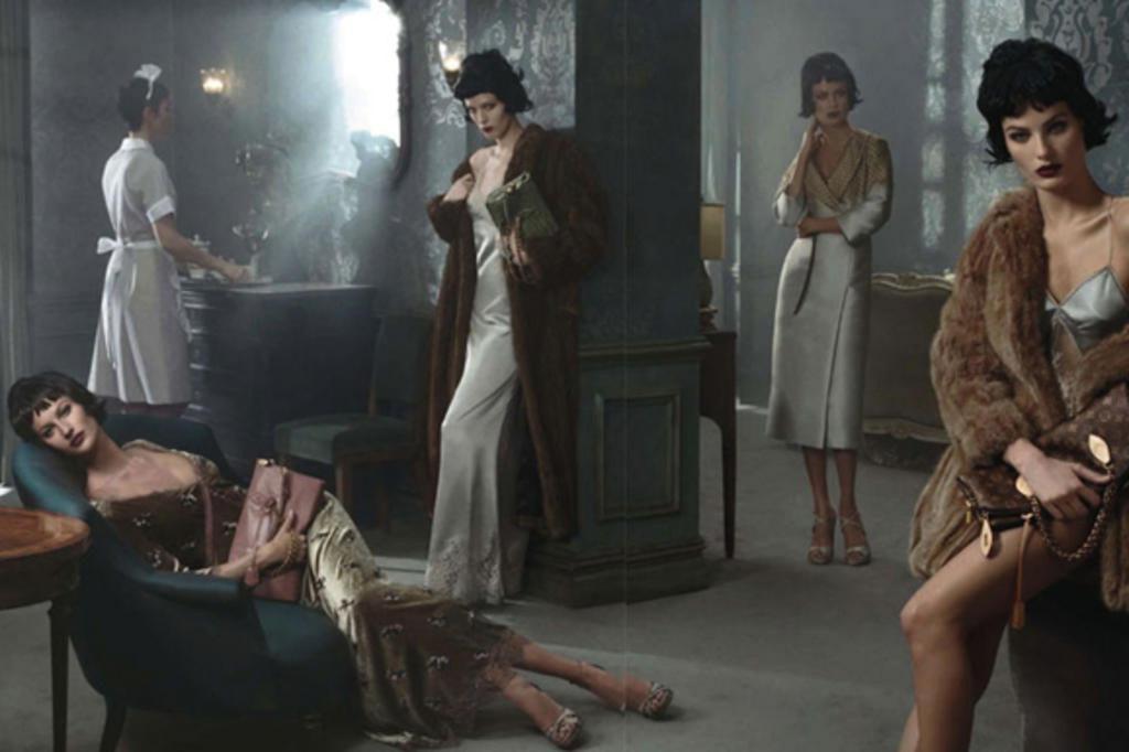Gisele Bündchen e Isabelli Fontana posam morenas para a Louis Vuitton Steven Meisel/Divulgação