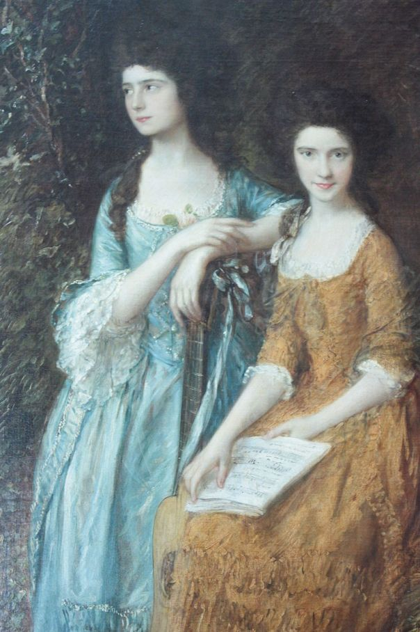 Elizabeth and Mary Linley by Thomas Gainsborough, Dulwich Picture Gallery