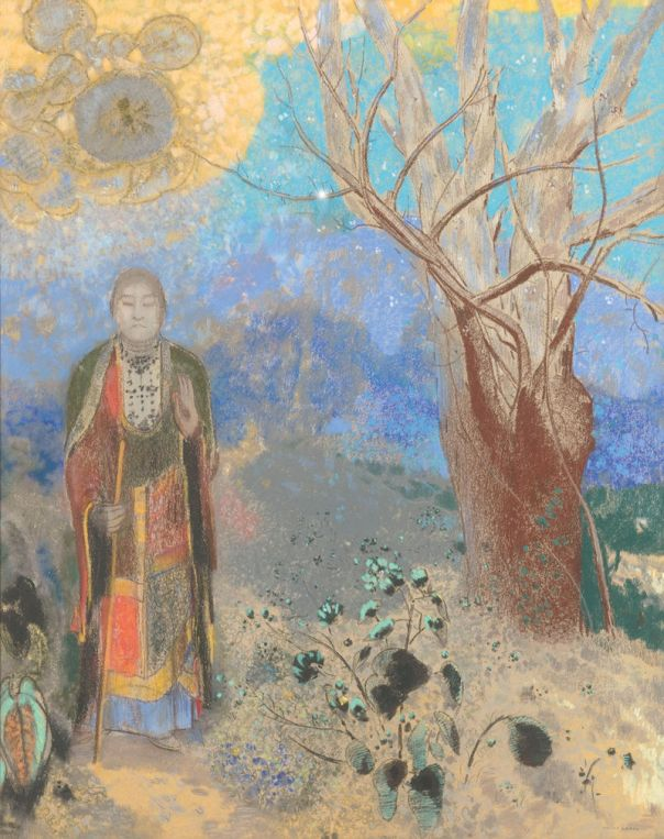 The Buddha, 1904 (Musée d'Orsay) Odilon Redon