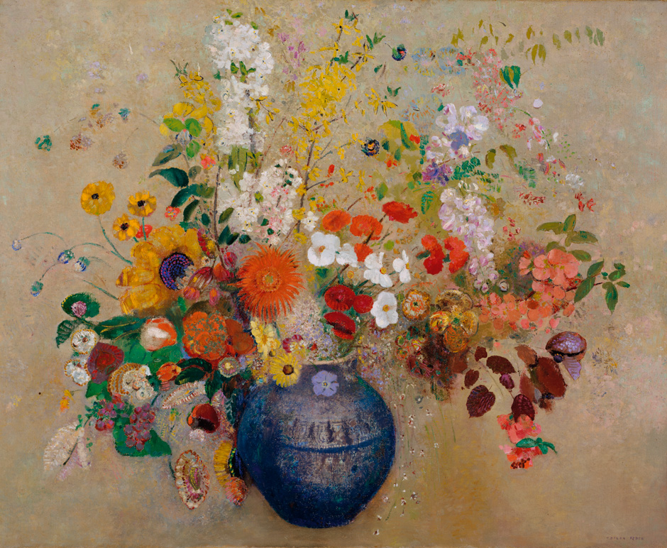 Flowers In Art Famous Artists Who Paint Flowers Floral Art