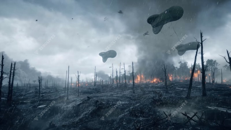 New Battlefield 1 Gameplay Video Shows St Quentin Scar