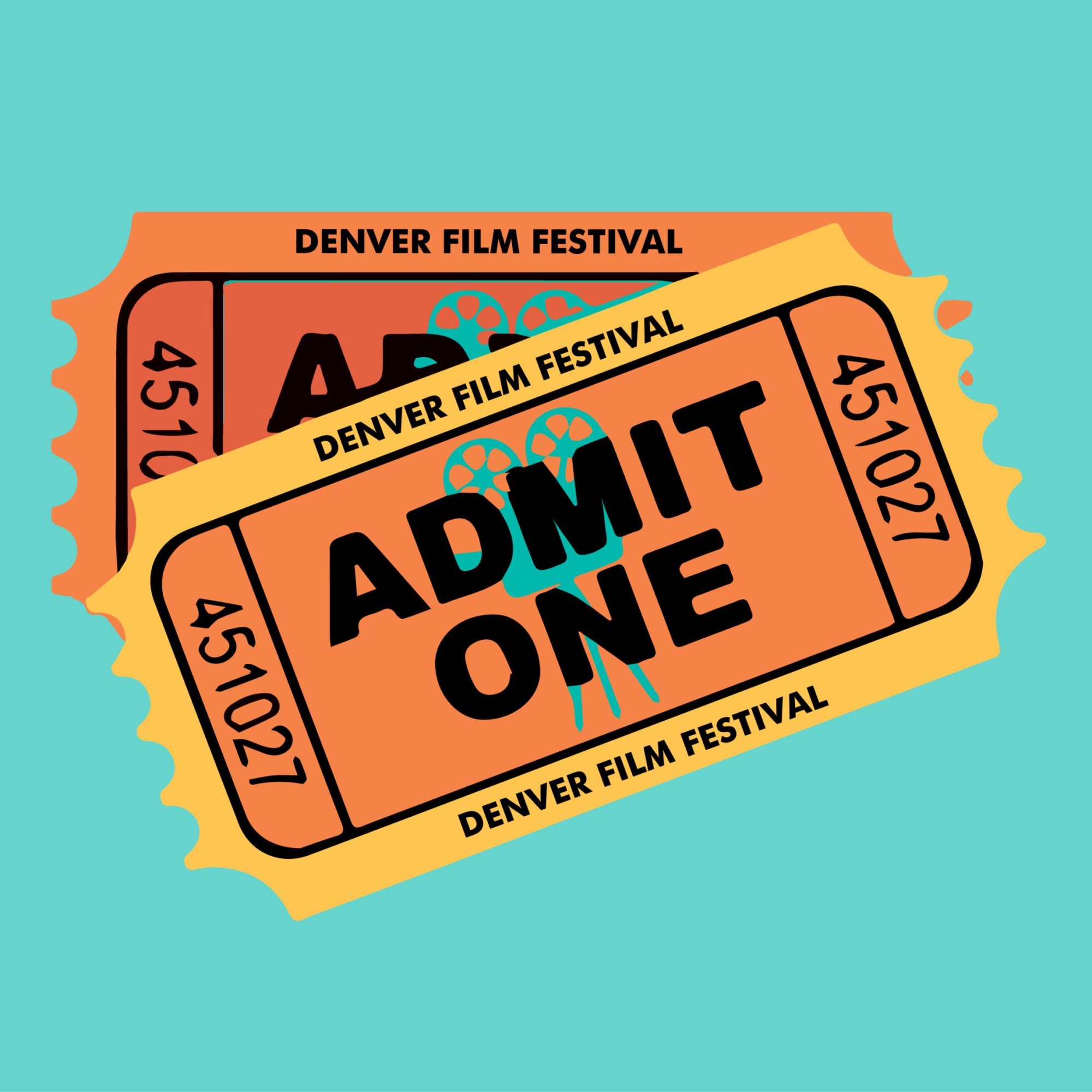 Film Festival tickets illustration