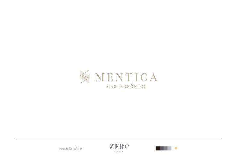 branding design mentica gastronomico