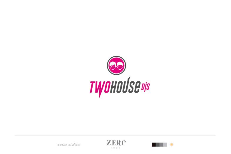 branding design two house djs