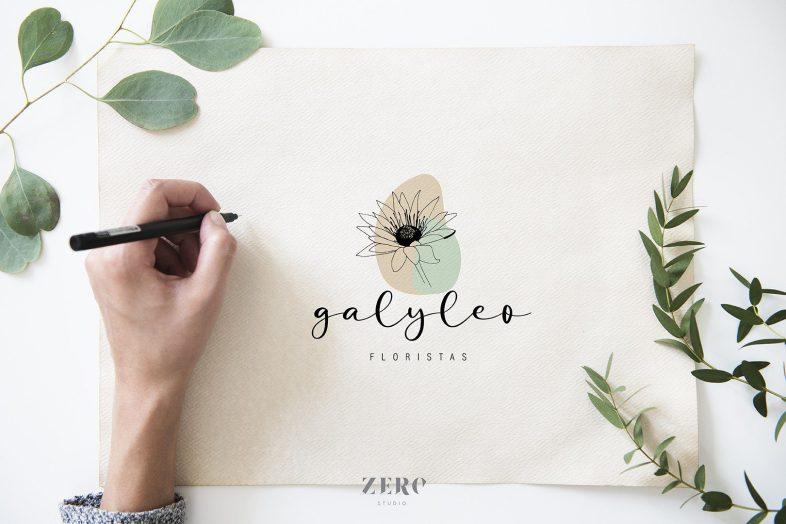 branding design galyleo floristas