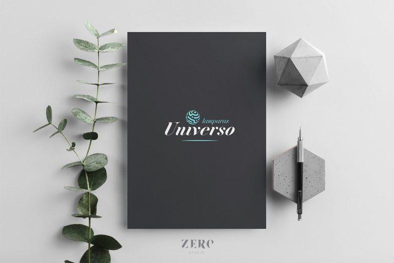 branding design lamparas universo