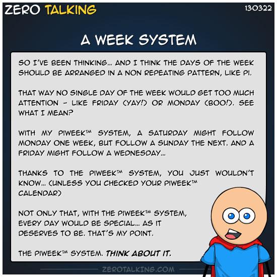 a-week-system-zero-dean