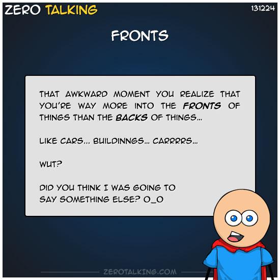 fronts-zero-dean
