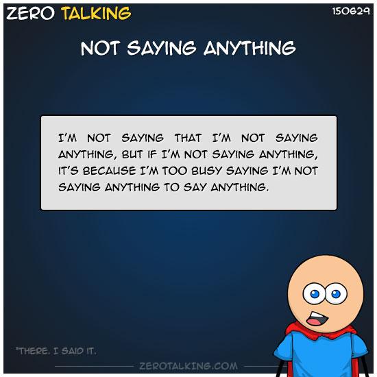 not-saying-anything-zero-dean