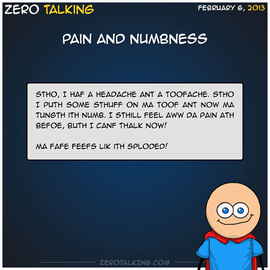 pain-and-numbness-zero-dean