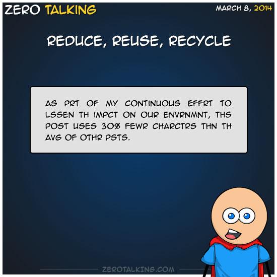 reduce-reuse-recycle-zero-dean