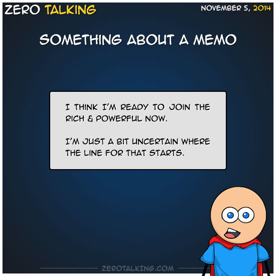 something-about-a-memo-zero-dean