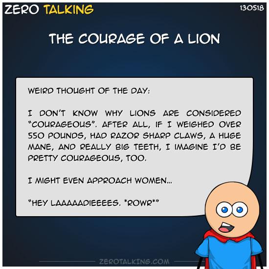 the-courage-of-a-lion-zero-dean
