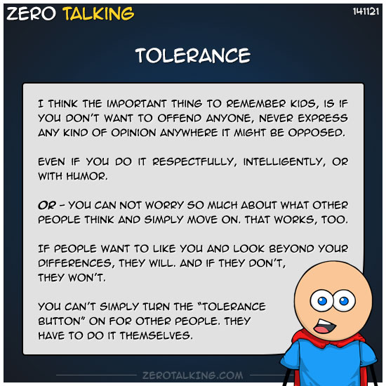 tolerance-zero-dean