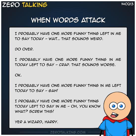 when-words-attack-zero-dean
