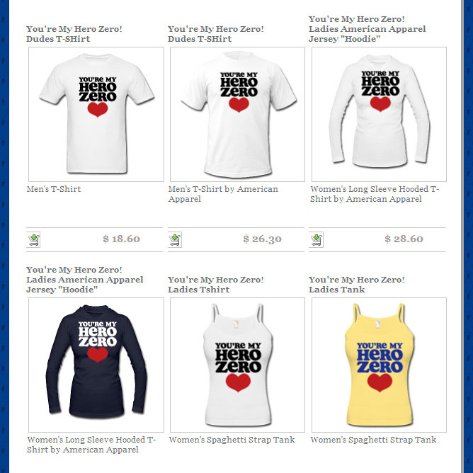 youre-my-hero-zero-shirts