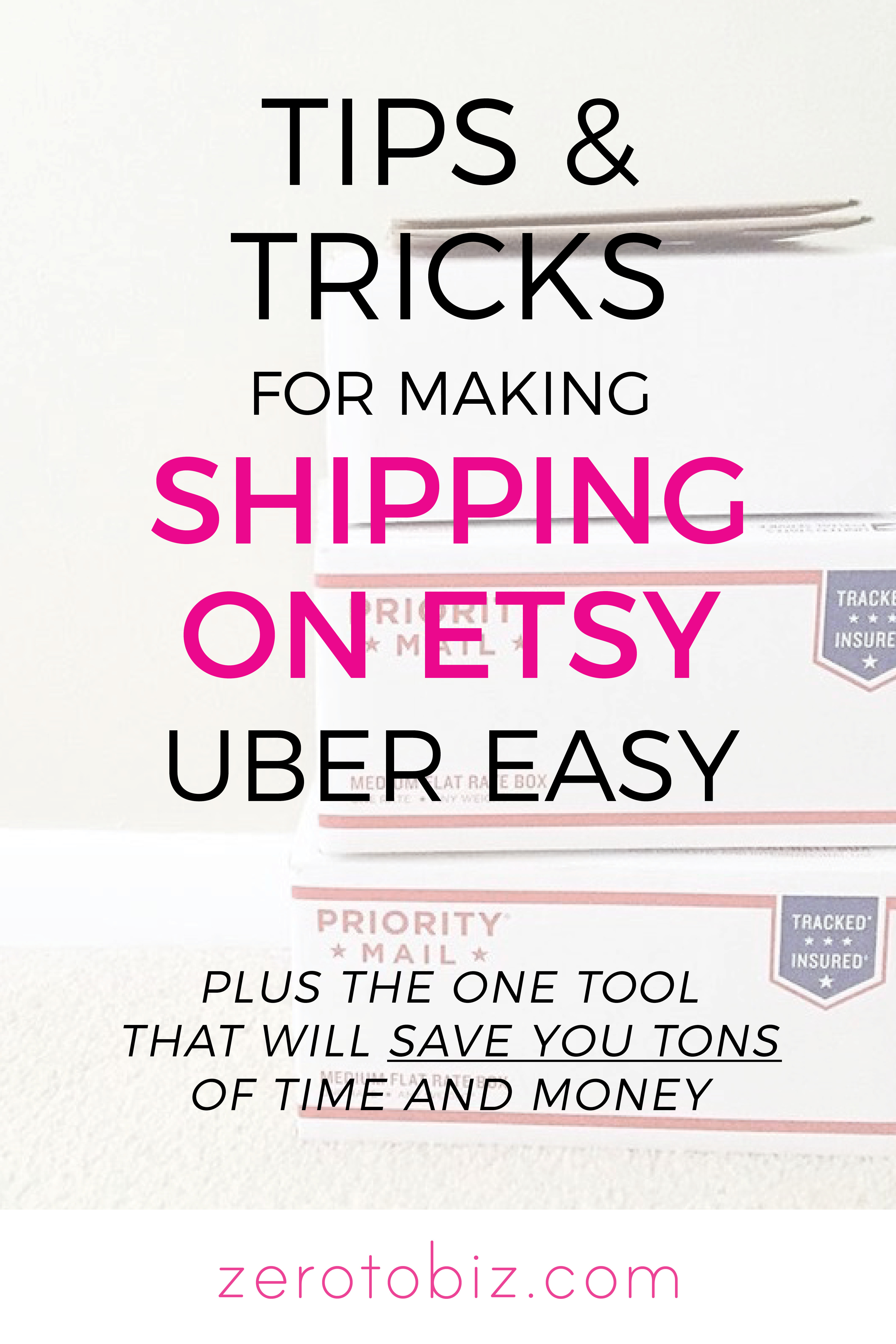750769d74 Tips and Tricks for Shipping on Etsy - zero to biz