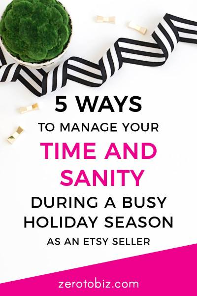 Time Management for Etsy Sellers