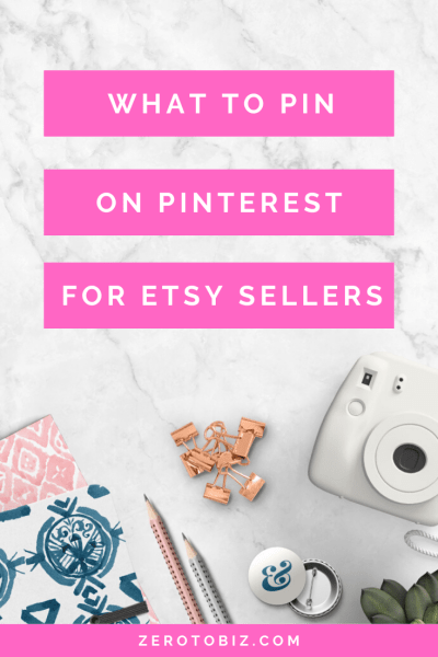 How to create pins for your Etsy Shop