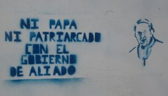 no pope no patriarchy in the govt of Aliado