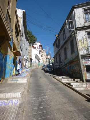 steep painted streets