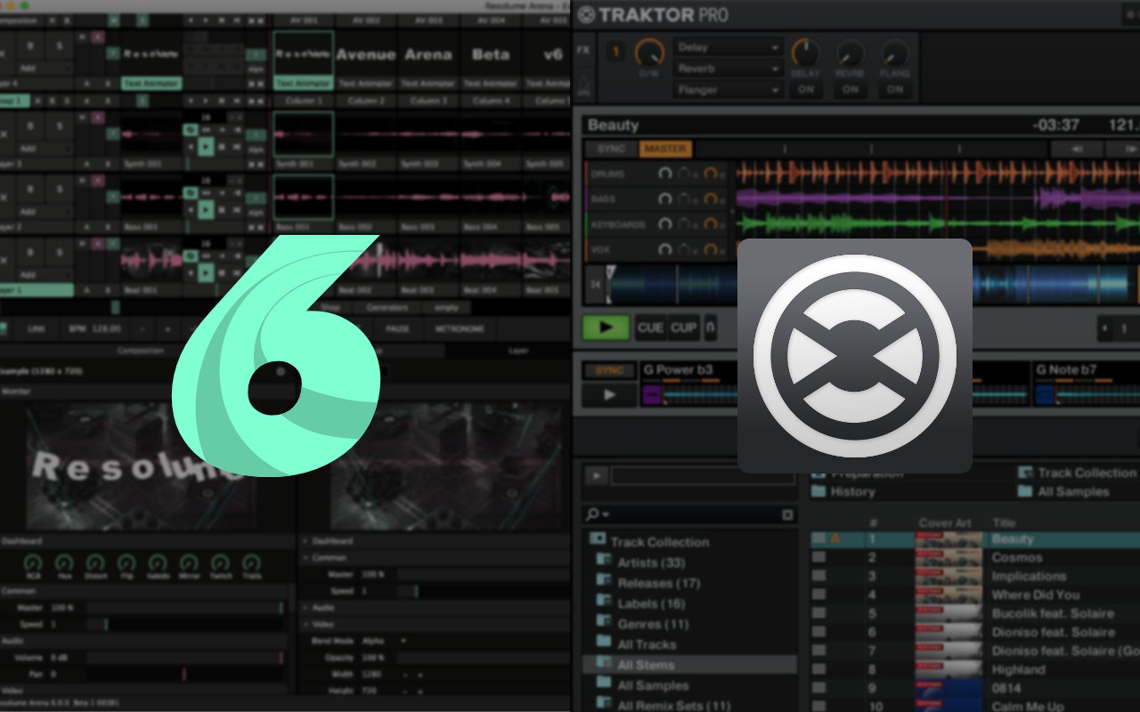 Syncing Traktor with Resolume 6 - Zero To VJ