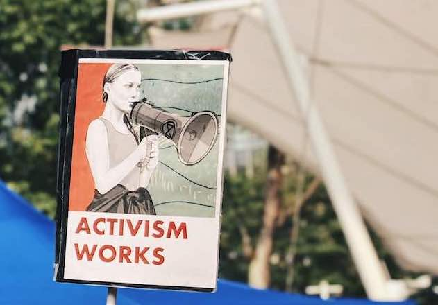 activism works placard