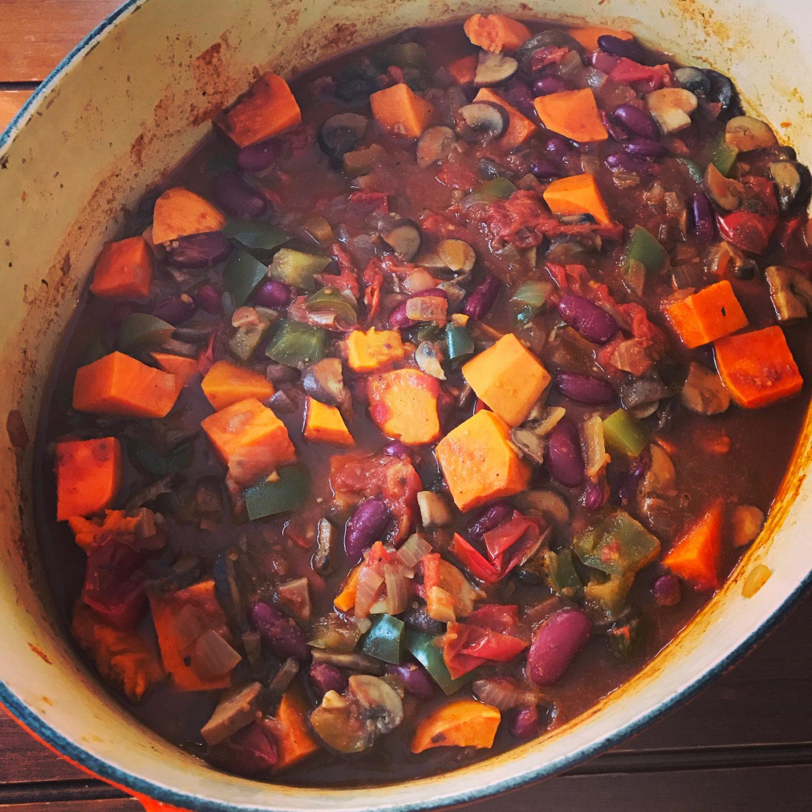 Vegetarian Chili Zero Waste Chef