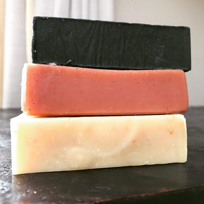 unpackaged bar soap