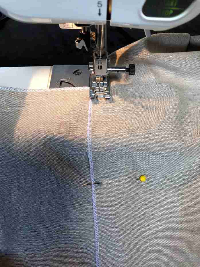 sewing a bento bag
