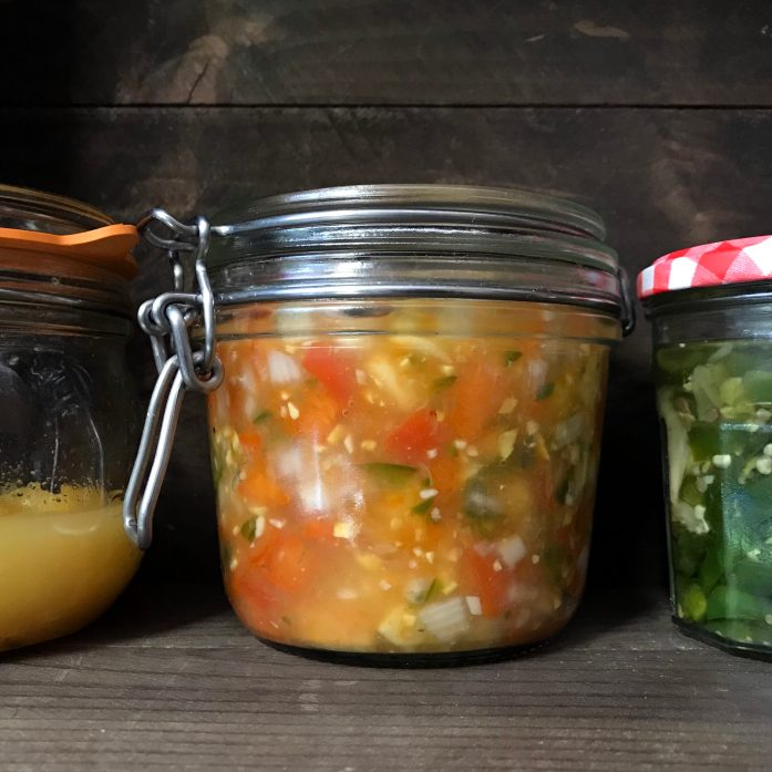 Unsure How to Eat Persimmons? Make Cultured Chutney