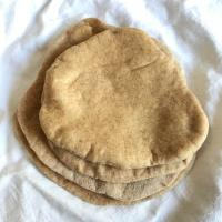 Make-a-Dent-in-Your-Discard Sourdough Pita Bread