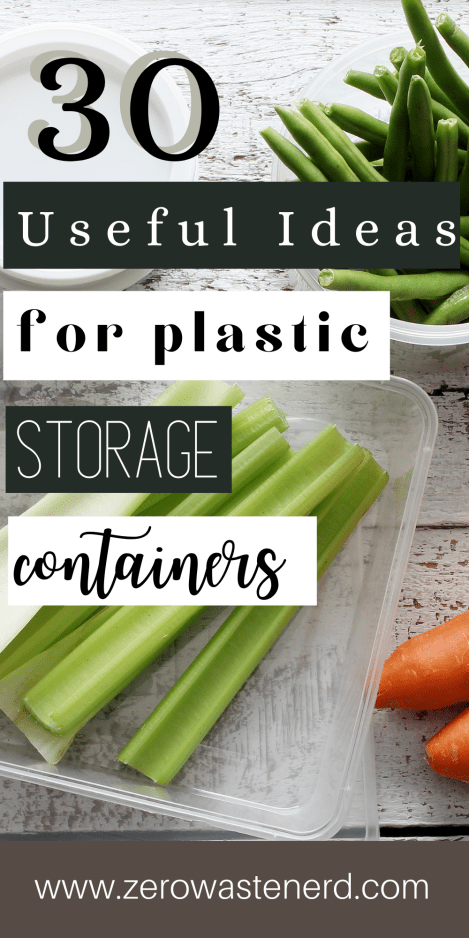 30 Useful Ideas for Plastic Storage Containers