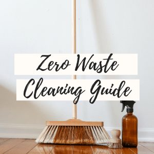 zero waste cleaning guide