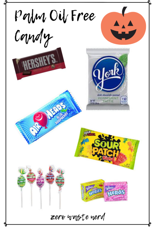 Palm Oil Free Candy