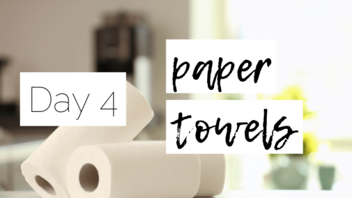 Reduce Paper Towels