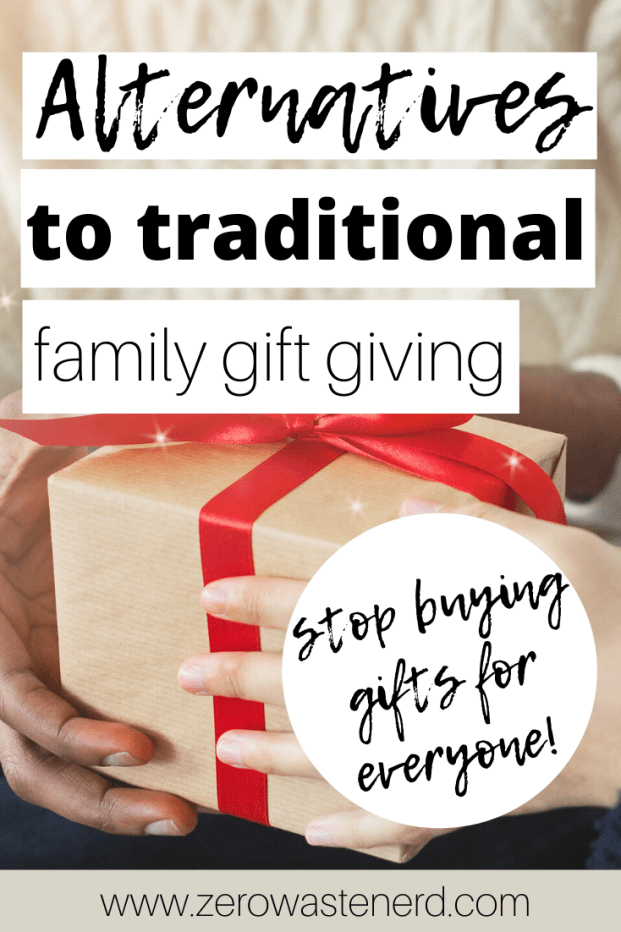 Alternatives to Traditional Family Gift Giving