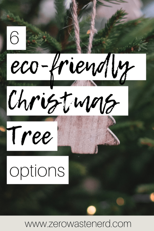 eco-friendly Christmas trees
