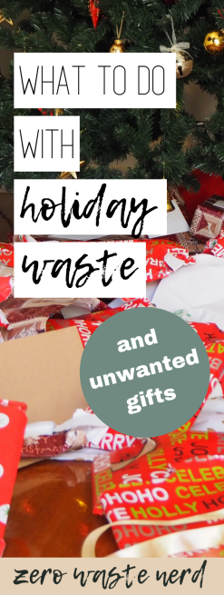 What to do with Holiday Waste 2