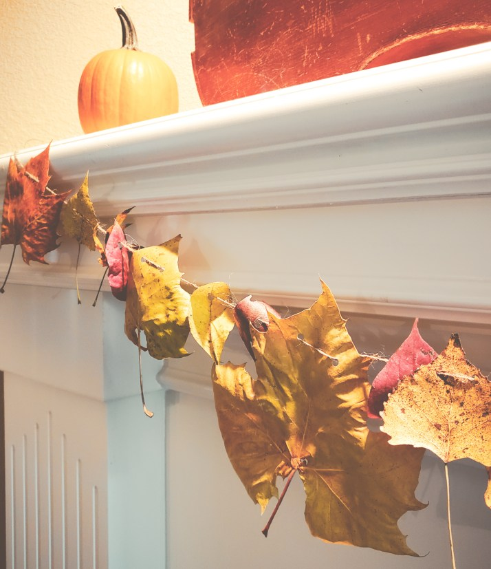 Decorate with Fall Leaves