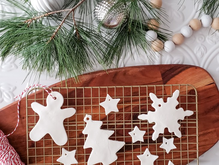 DIY Clay Ornaments for the Holidays