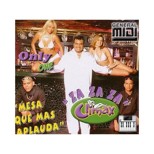 Za Za Za  Mesa que mas Aplauda  Grupo Climax  Midi File